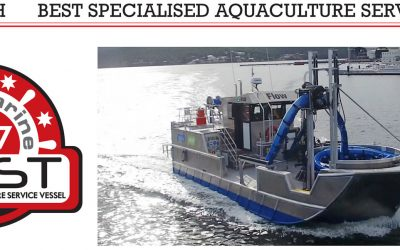 Oceantech wins Best Specialised Aquaculture Award from Ausmarine!