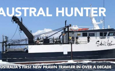 Austral Hunter: Australia's First New Prawn Trawler in Over a Decade